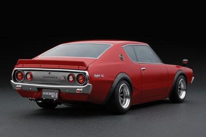 Ignition Models Nissan Skyline KPGC110 red rear