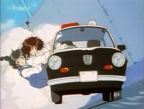 You're Under Arrest - Subaru R2 wheelie