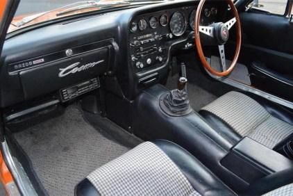 1968 Mazda 110S orange 10
