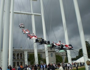 GoodWood Festival of Speed - Honda 2007