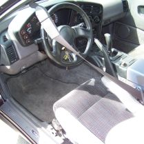 1990 Eagle Talon TSi AWD 10 interior driver