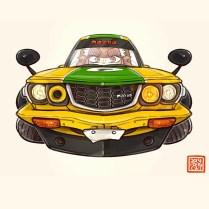 Mazda RX3 Savanna