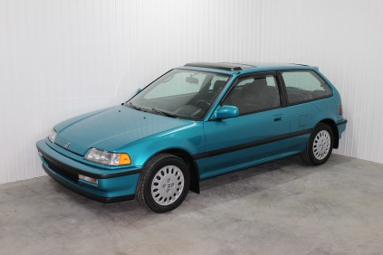 1991 Honda Civic Si Tahitian Green 02