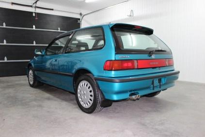 1991 Honda Civic Si Tahitian Green 04
