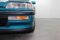 1991 Honda Civic Si Tahitian Green 11