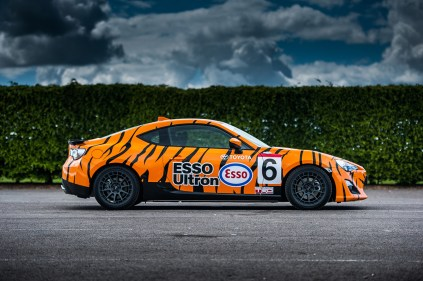 36_Toyota GT86 JGTC Esso Supra tiger livery