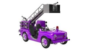 Toyota Camatte Hajime fire truck