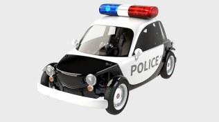 Toyota Camatte police car