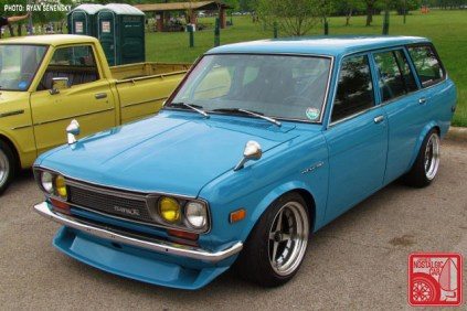 Datsun 510 Wagon Front Team_Nostalgic Chicago