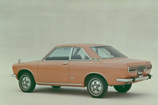 Datsun Bluebird Coupe 1800SSS rear