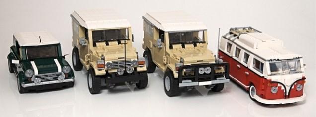 Lego Toyota Land Cruiser 13