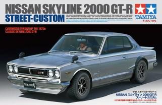 Tamiya Nissan Skyline GT-R Hakosuka street custom model kit