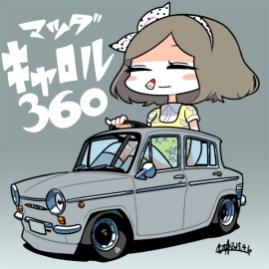 U井T吾 Mazda Carol 360