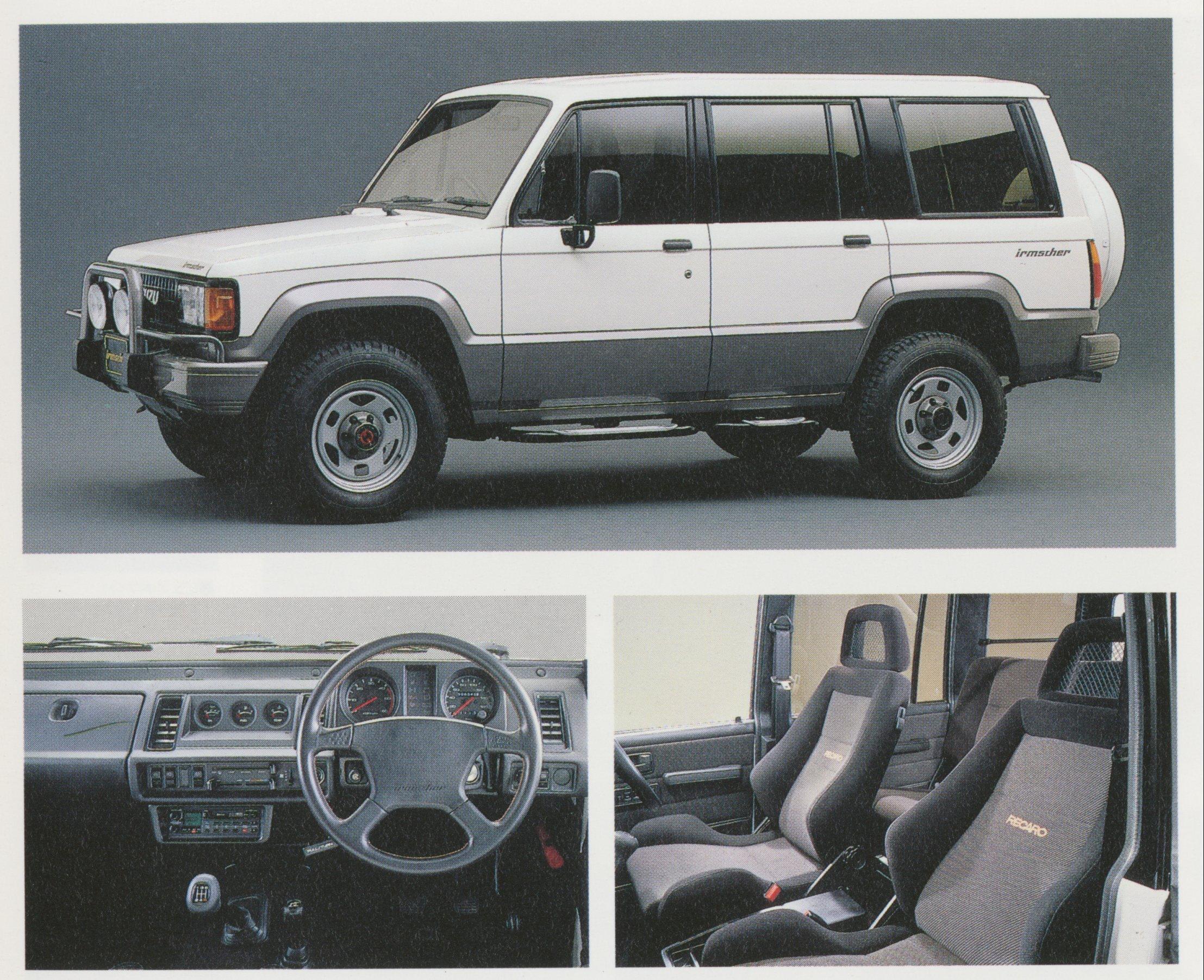1989 Isuzu Bighorn Irmscher R   Japanese Nostalgic Car