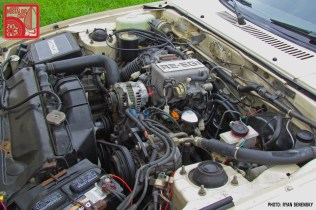 Mazda RX7 FB White 13B Engine Team_Nostalgic Chicago