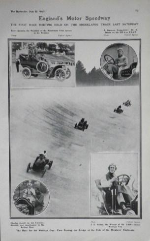 Kishichiro Okura Brooklands 1907