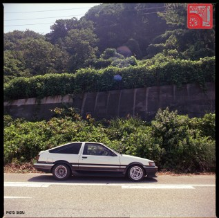 Yamagata Onsen 54 S2-454 Toyota AE86 Corolla Levin
