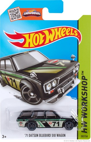 Datsun 510 wagon - black Kmart exclusive