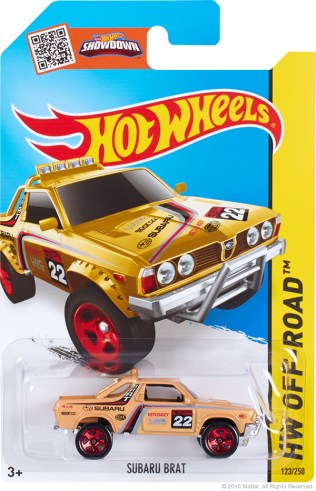 Subaru Brat - yellow Kmart exclusive