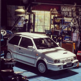 Takupon0816_Nissan March EK10 SuperTurbo 1989 diorama