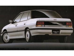 Isuzu Aska CX Subaru Legacy