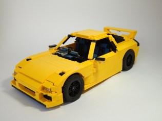 Lego Mazda RX7 FD3S 01