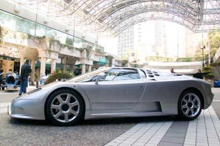 Sokichi Shikiba Bugatti EB110SS