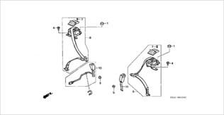 Honda Beat parts seat belt
