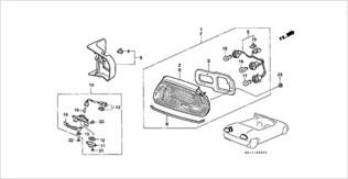 Honda Beat parts taillight