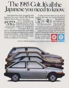 us1985_ad-DodgeColt-All the Japanese you need to know