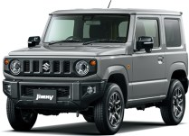 Suzuki Jimny 4th gen Medium Gray