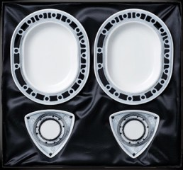 Japan Post Mazda RX7 40th rotary plates 01