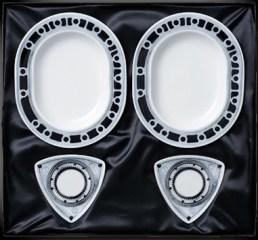 Japan Post Mazda RX7 40th rotary plates 01
