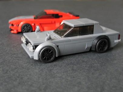 Lego Nissan Skyline C10 hakosuka by Prototyp 01