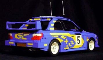 Lego Subaru Impreza WRC 2001 by ken-tucky 02