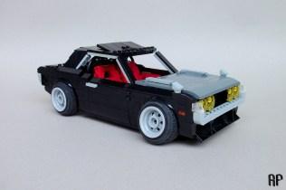 Lego Toyota Celica A20 by Rhys' Pieces 01