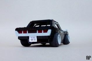 Lego Toyota Celica A20 by Rhys' Pieces 02