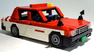 Lego Toyota Crown Comfort by Dohoon Kim 01
