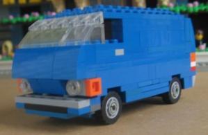 Lego Toyota Hiace 1979 by L-Rides 01