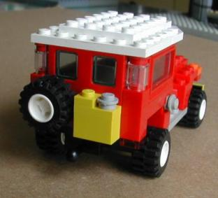 Lego Toyota Land Cruiser FJ40 by L-Rides 02