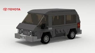 Lego Toyota Van by Tom 01