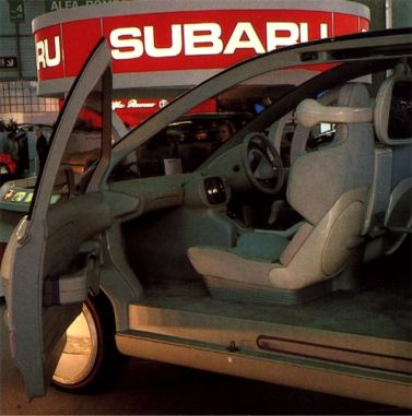 Subaru BLT Dark Interior