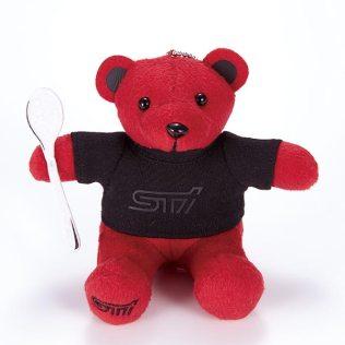 Subaru STI 30th anniversary bear 01