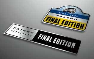 Mitsubishi Pajero V80 2019 Final Edition sticker