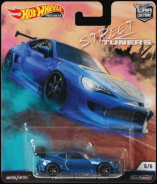Hot Wheels Car Culture Street Tuners Subaru BRZ Pandem blue