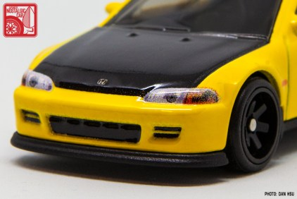 Hot Wheels Honda Civic Hatchback EG prototype yellow 3533