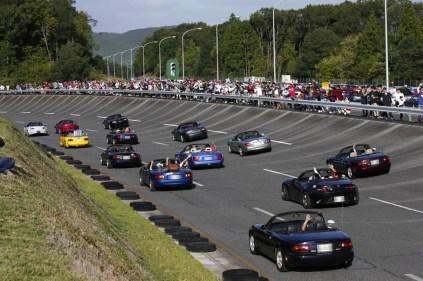 Mazda Roadster 30th Anniversary Miyoshi Proving Grounds Japan 04