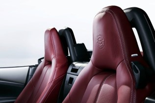 Mazda MX5 Miata ND 100th Anniversary headrests