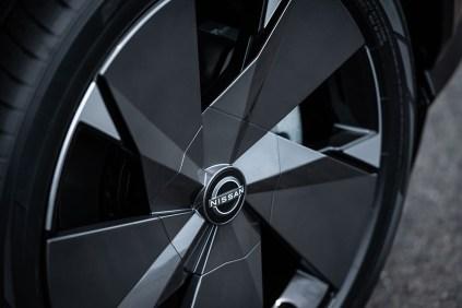 NissanAriya wheel logo