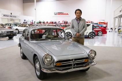 JCCS2020 Honda S800 Shinji Aoyama 01